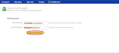 verifikasi password