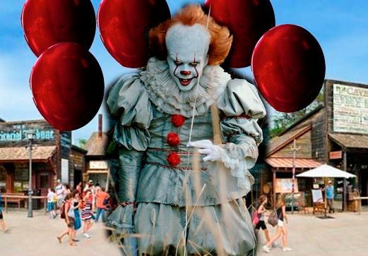 Halloween in Italia con i film clown horror come il remake di IT