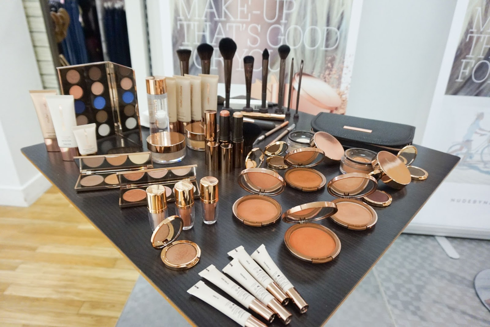 Make Up That's Good For You - Nude By Nature Launches in Debenhams, Belfast