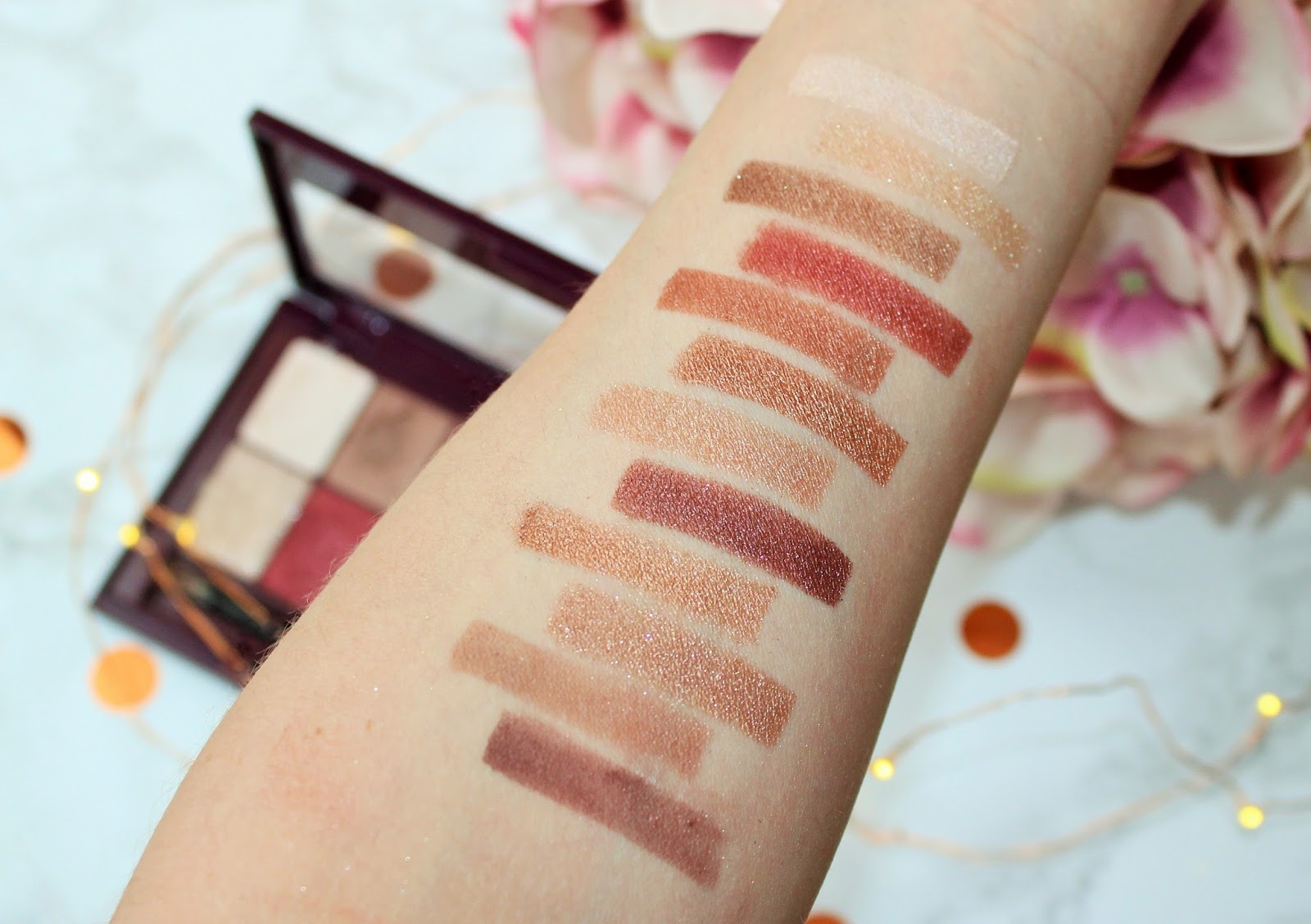 Maybelline The Burgundy Bar Eyeshadow Palette Review - 5