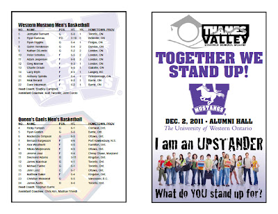 basketball tournament program template mustangs backcourt club blog together we stand up game