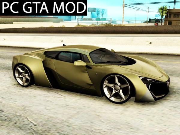 Free Download Marussia B2 in SHDru vision Mod for GTA San Andreas