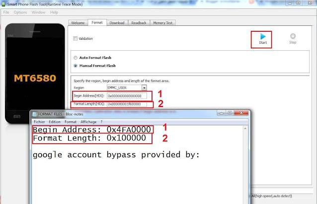 طريقة إزالة حساب غوغل من  جهاز STREAM B1s s40285 Remove frp عن طريق SP FLASH TOOL