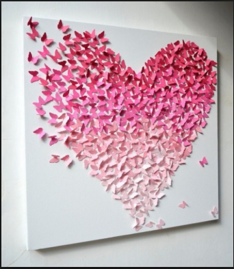 Inspirasi Hiasan Dinding  Dari Kertas Yang Membuat Anda  Kerasan Di Dalam Kamar 4