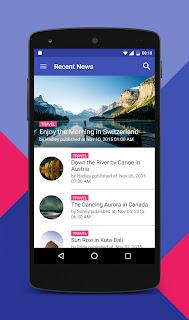 Source Code Soerat Kabar Wordpress App for Android v20