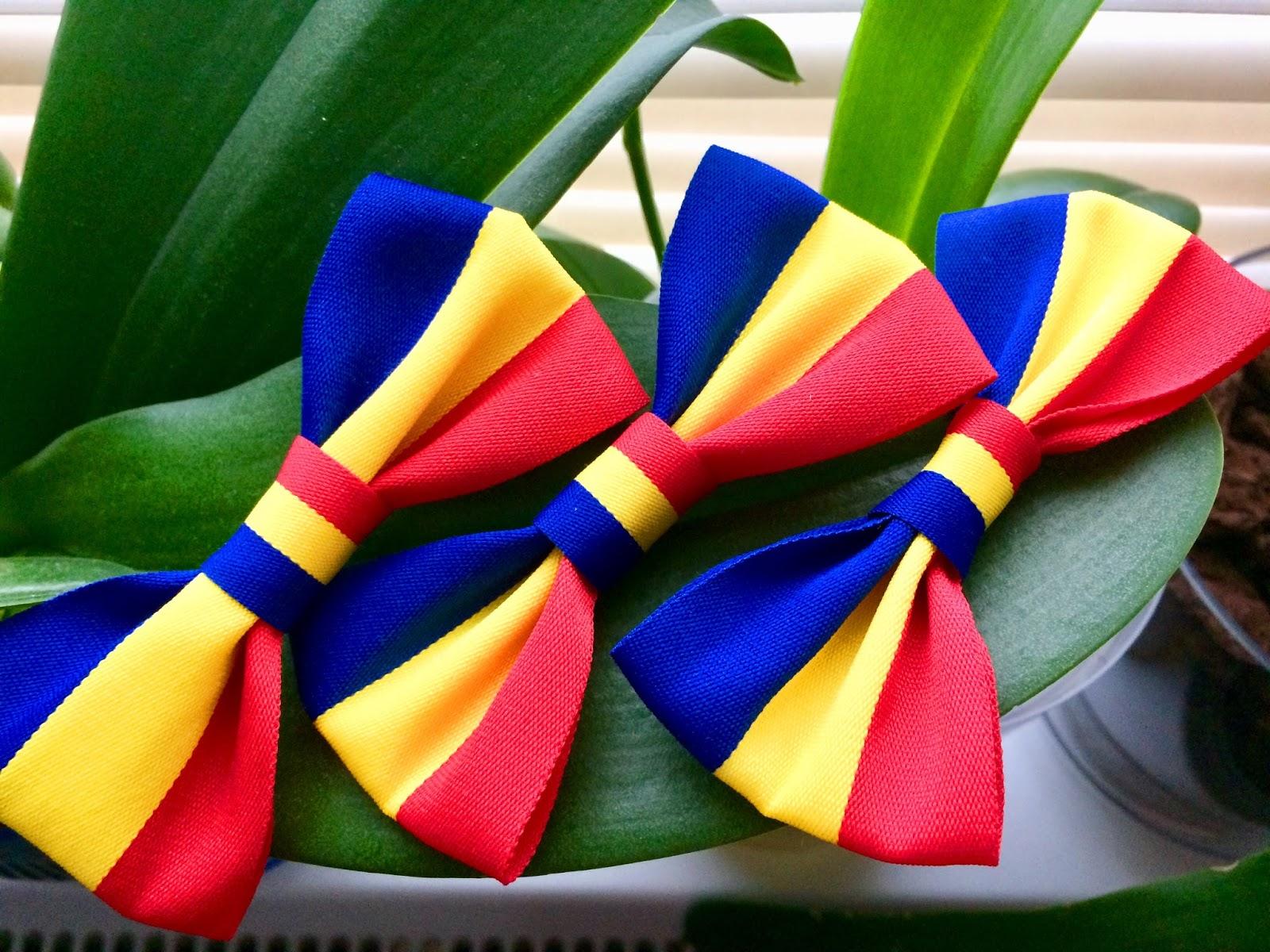 papioane tricolor ziua romaniei 1 decembrie
