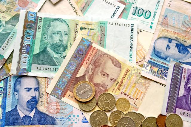 Sueldo Bulgaria levas dinero