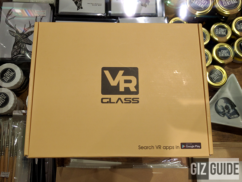 Box of the VR glasses