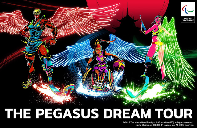 The Pegasus Dream Tour official art International Paralympic Committee JP Games