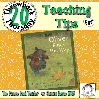 Oliver Finds His Way by Phyllis Root TBT - Teaching Tips.