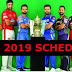 Vivo Ipl 2019 | Schedule , Timetable ,Fixtures ,News ,Date sheet ,Teams ,And Auction Date ,Point Table