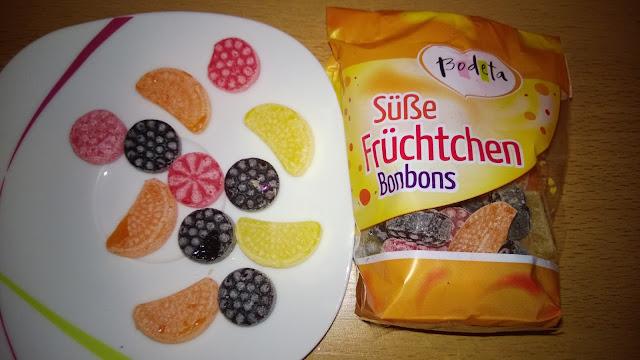 bunte Mischung an verschiedenen Bonbons