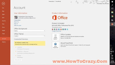 Ms office 2016 fully activated HowToCrazy