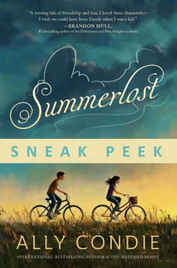 Summerlost ally condie early book reveiw