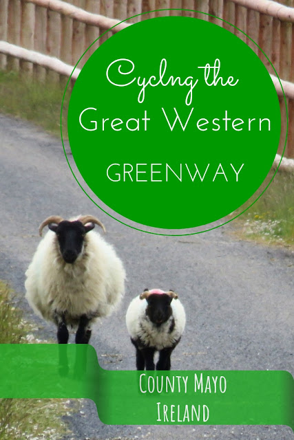 Cycling the Great Western Greenway. From Achill to Westport County Mayo Ireland