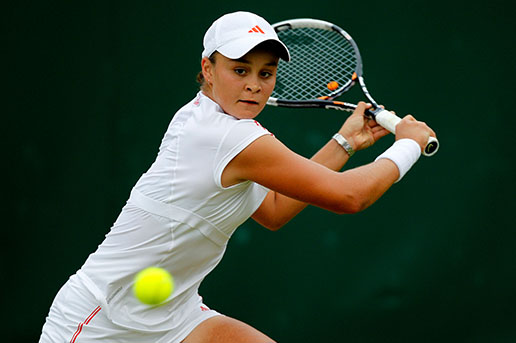 TENNIS: Ashleigh Barty Profile and Images
