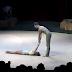 La pareja deja a todo el público mudo con su impresionante show acrobático