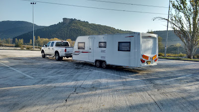 UK Spain caravan transport, towing and delivery