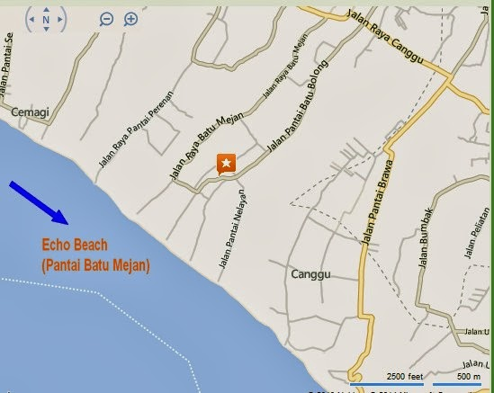 Echo Beach Pantai Batu Mejan Bali Location Map,Location Map of Echo Beach Pantai Batu Mejan Bali,Echo Beach Pantai Batu Mejan Bali accommodation destinations attractions hotels resorts villas map reviews photos pictures