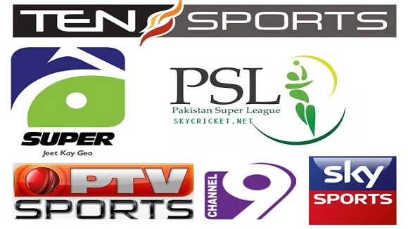 HBL PSL 2017 Live Broadcast Channels