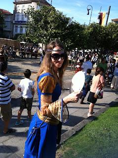 Vestido Medieval Feira Franca 5
