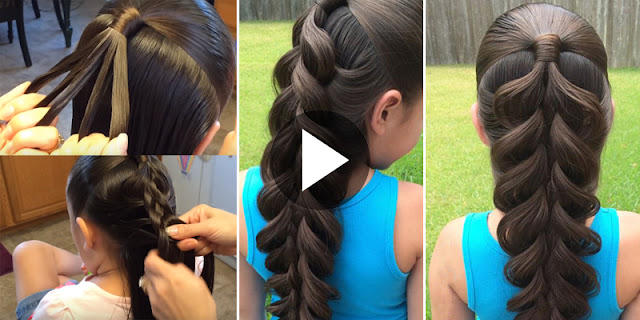 Learn - How To Create 5 Strand Braid Hairstyle, See Tutorial