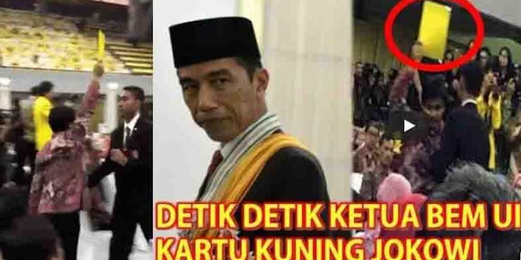 """'Kartu Kuning Untuk Jokowi"""" Embrio Gerakan Mahasiswa Jaman Now?"""
