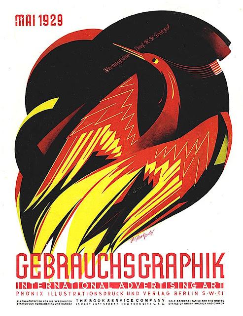 Julius Klinger, Gebrauchsgraphik 1929, phoenix