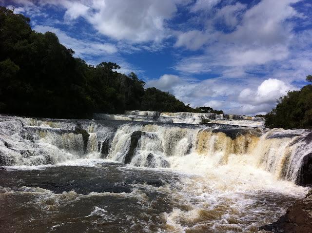 Cachoeira dos Venâncios, no interior de Jaquirana, no Rio Grande do Sul