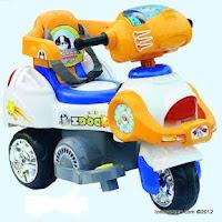 Motor Mainan Aki PLIKO PK7788N DOGI - Remote Controllable
