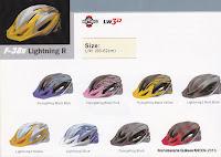 United Component F-38R Lightning R Bike Helmet