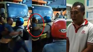 Sopir Truk Ngamuk Usai Serempet Anggota TNI dan Istrinya yang Hamil, Videonya Viral di Media Sosial
