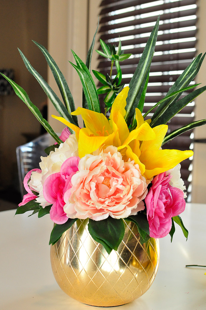 How To Use Dollar Store Florals For Home Decor Monica Wants It