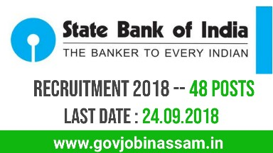 State Bank of India Recruitment 2018, govjobijassam