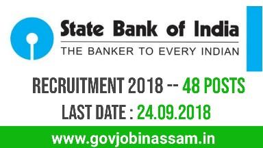 State Bank of India Recruitment 2018, govjobijassam