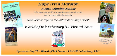 Guest Post by Author Hope Irvin Marston