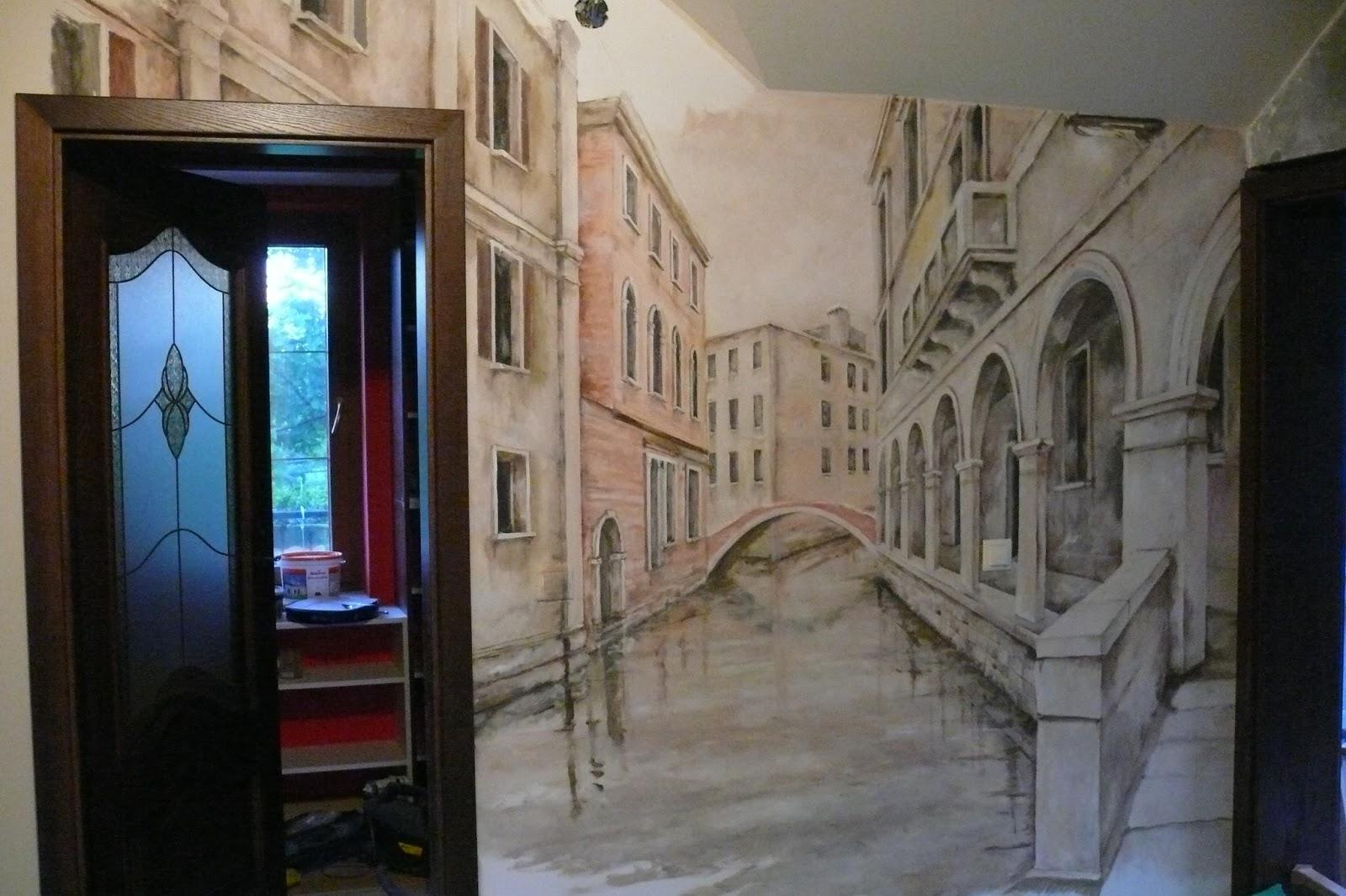 Artystyczne Malowanie ściany Mural Malowanie Obrazów Na ścianie
