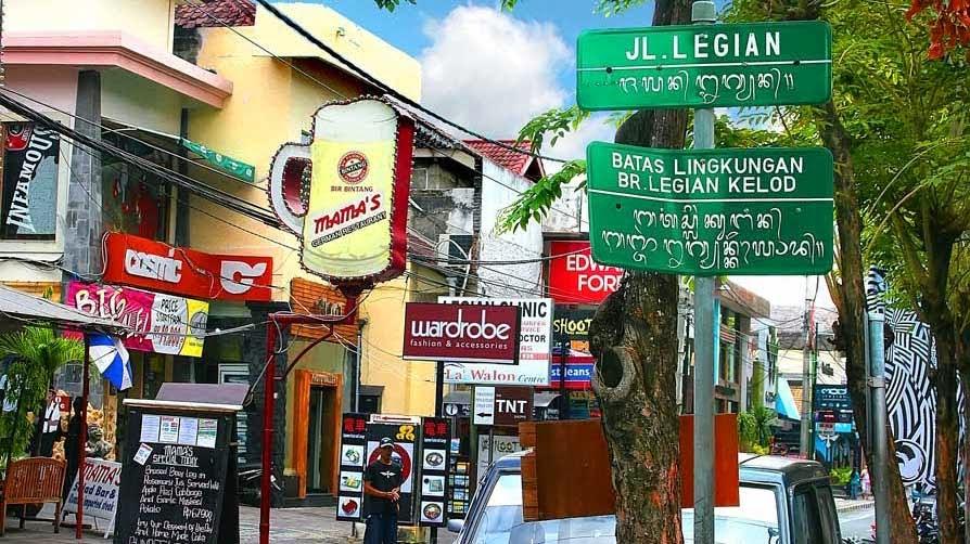 Tempat Belanja di Legian Bali