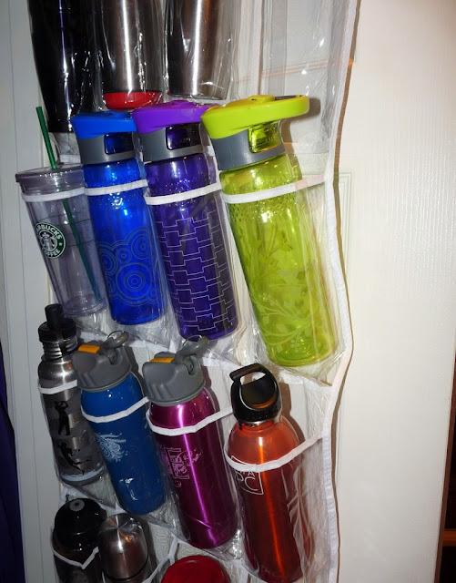 Store water bottles