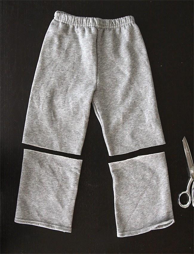 Cómo transformar unos pantalones en una falda infantil