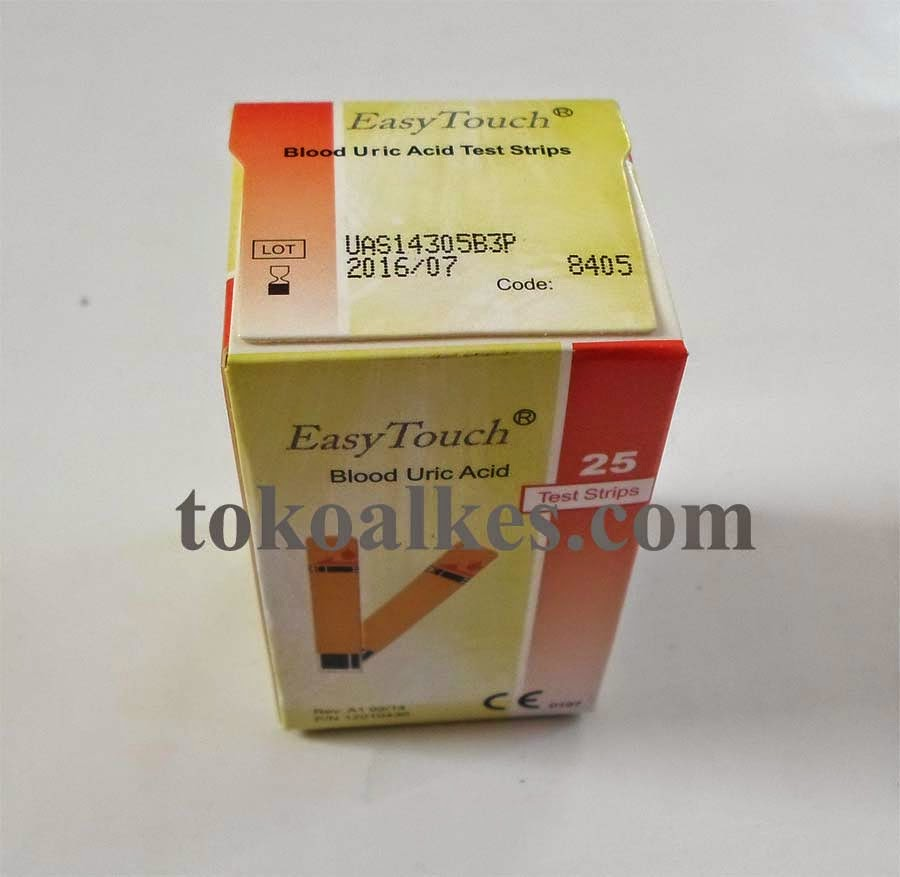 Alat Cek Asam Urat Nesco Dan Easy Touch Test Strips Cholesterol Strip Tes Kolesterol Merek