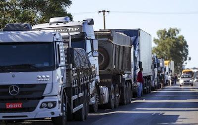 Cumprimento do tabelamento do frete e redução do preço do diesel não foram contemplados no anúncio do governo