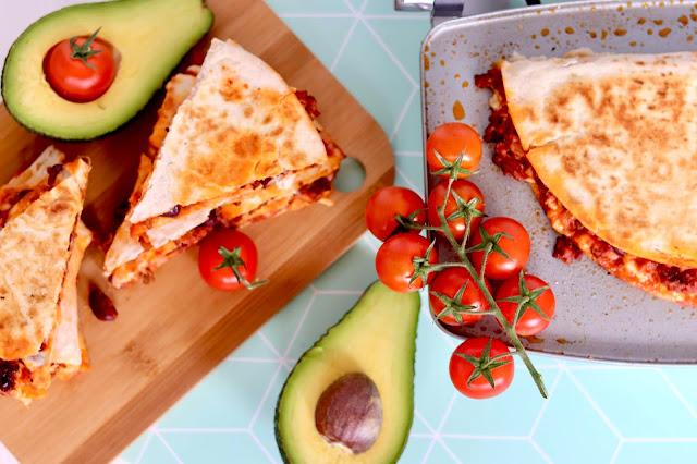 🌮 quesadilla z opiekacza Breville 🌮 recenzja i przepis