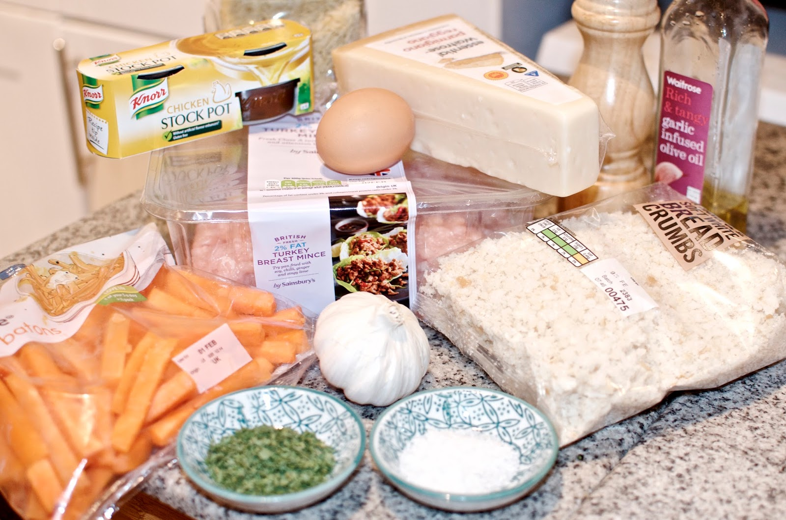 Orzo Soup With Garlicky Parmesan Turkey Meatballs Ingredients
