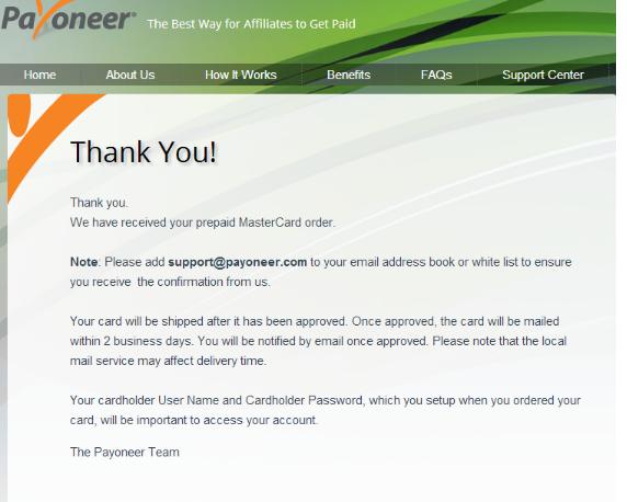 How to Get a International Payoneer Master Debit card Free. 2017 (Bonus $25)