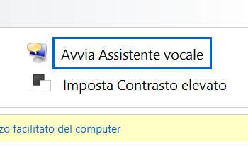 disattiva voce windows