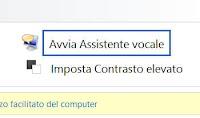 Disattivare l'assistente vocale di Windows