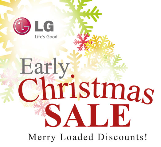 LG 2014 Early Christmas Sale