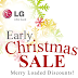 [SALE ALERT] Get big discounts with LG G-Series and L-Series Early Christmas Sale!