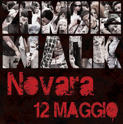 Zombie Walk Novara: 12 Maggio 2012